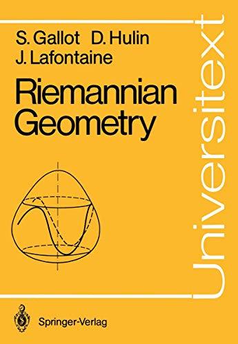 Riemannian Geometry: Gallot, S D