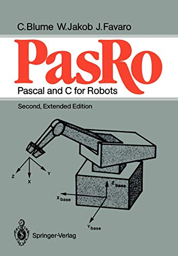 9783540180937: Pasro: Pascal and C for Robots