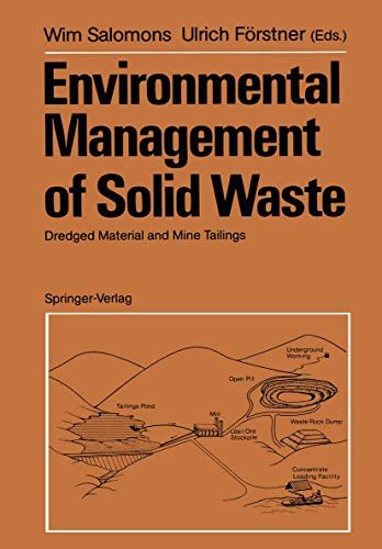 9783540182320: Environmental Management of Solid Waste: Dredged Material and Mine Tailings