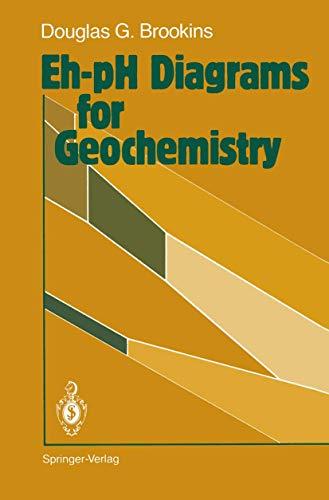 9783540184850: Eh-pH Diagrams for Geochemistry