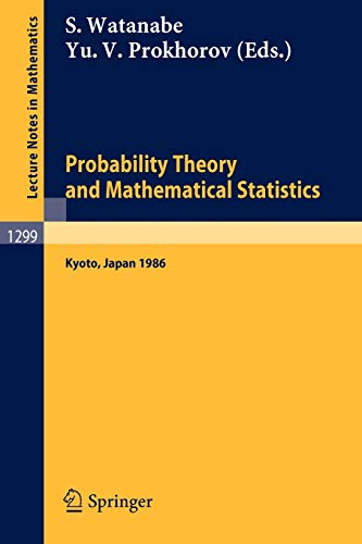 Probability Theory and Mathematical Statistics: Proceedings of