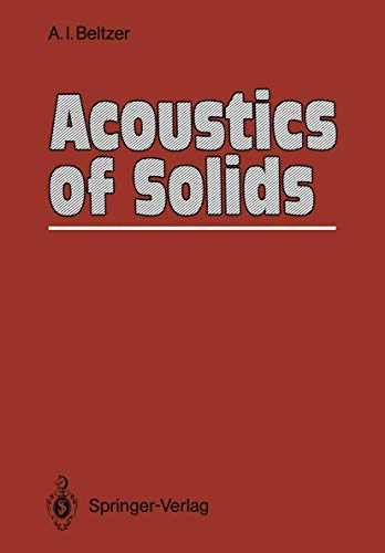 9783540188889: Acoustics of Solids