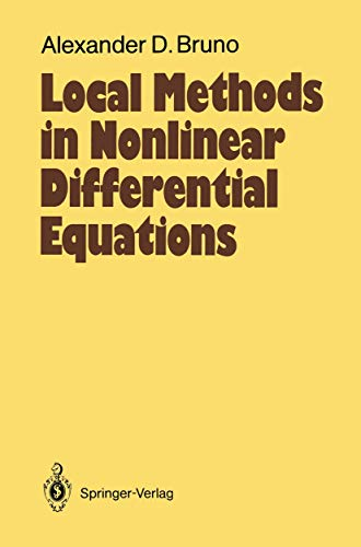 9783540189268: Local Methods in Nonlinear Differential Equations: Part I The Local Method of Nonlinear Analysis of Differential Equations Part II The Sets of ... (Springer Series in Soviet Mathematics)