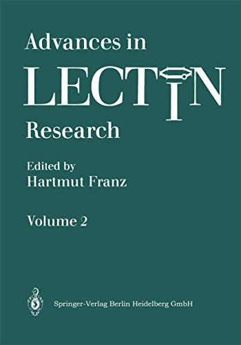9783540189619: Advances in Lectin Research