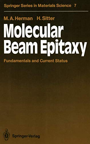 9783540190752: Molecular Beam Epitaxy: Fundamentals and Current Status (Springer series in materials science)