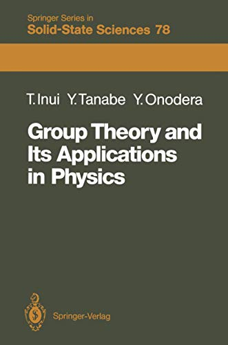 9783540191056: Group Theory and Its Applications in Physics (Springer Series in Solid-State Sciences)