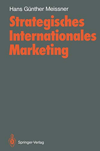 9783540191902: Strategisches Internationales Marketing (German Edition)