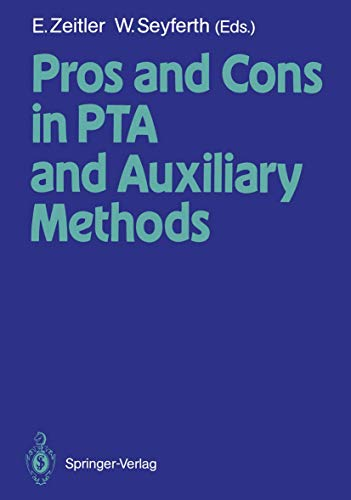 9783540193067: Pros and Cons in PTA and Auxiliary Methods