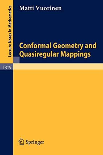 9783540193425: Conformal Geometry and Quasiregular Mappings