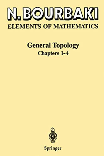 9783540193746: General Topology: Chapters 1-4