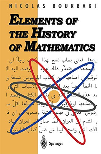 9783540193760: Elements of the History of Mathematics