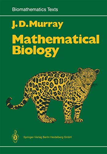 9783540194606: Mathematical Biology (Biomathematics)