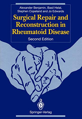 9783540197270: Surgical Repair and Reconstruction in Rheumatoid Disease