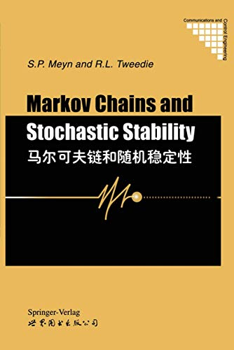 9783540198321: Markov Chains and Stochastic Stability (Communications and Control Engineering)