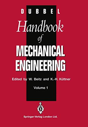 9783540198680: DUBBEL - Handbook of Mechanical Engineering