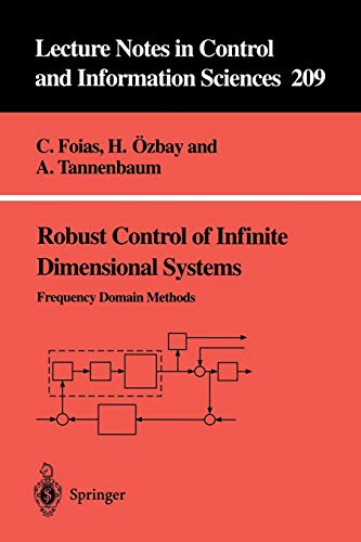 9783540199946: Robust Control of Infinite Dimensional Systems: Frequency Domain Methods (Lecture Notes in Control and Information Sciences)