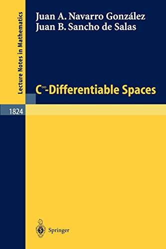 9783540200727: C Degrees\Infinity - Differentiable Spaces (Lecture Notes in Mathematics)