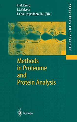 Methods in Proteome and Protein Analysis: Juan J. Calvete