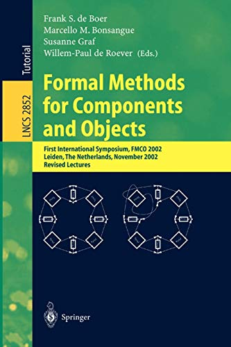 Formal Methods for Components and Objects: First