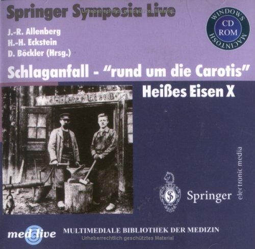 9783540203162: Schlaganfall - rund um die Carotis: Heißes Eisen X (Multimediale Bibliothek der Medizin) (German Edition)