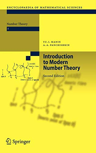 9783540203643: Introduction to Modern Number Theory: Fundamental Problems, Ideas and Theories (Encyclopaedia of Mathematical Sciences)