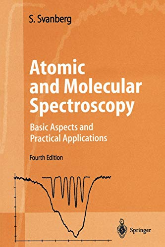 9783540203827: Atomic and Molecular Spectroscopy: Basic Aspects and Practical Applications (Advanced Texts in Physics)