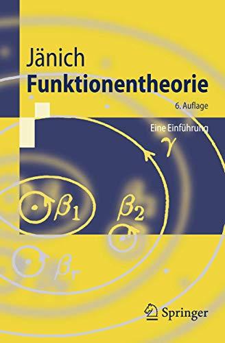 9783540203926: Funktionentheorie: Eine Einfuhrung (Springer-Lehrbuch)