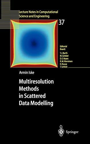 9783540204794: Multiresolution Methods in Scattered Data Modelling