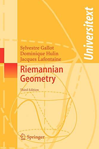 9783540204930: Riemannian Geometry (Universitext)