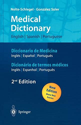 9783540205616: Medical Dictionary/Diccionario de Medicina/Dicionário de termos médicos: ... (Springer-Woerterbuch)