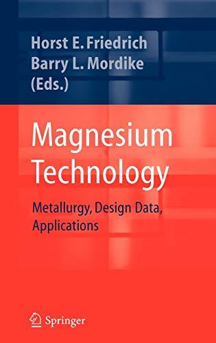 9783540205999: Magnesium Technology