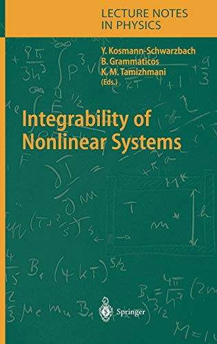 9783540206309: Integrability of Nonlinear Systems (Lecture Notes in Physics)