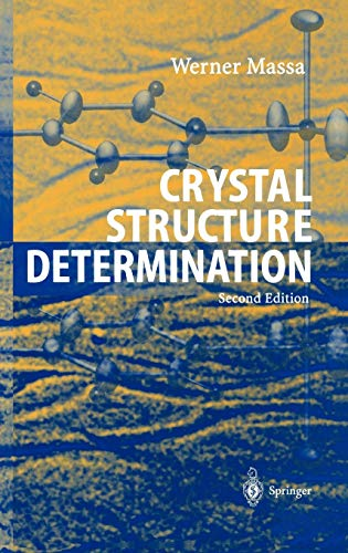 9783540206446: Crystal Structure Determination