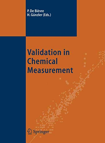 9783540207887: Validation In Chemical Measurement