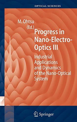9783540210504: Progress in Nano-Electro Optics III