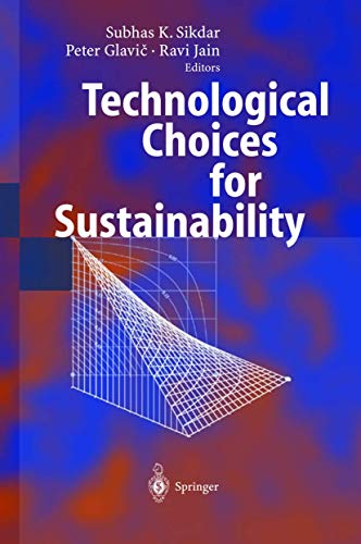 9783540211310: Technological Choices for Sustainability