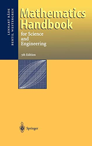9783540211419: Mathematics Handbook for Science and Engineering
