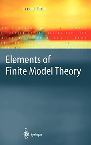 9783540212027: Elements of Finite Model Theory (Texts in Theoretical Computer Science. An EATCS Series)