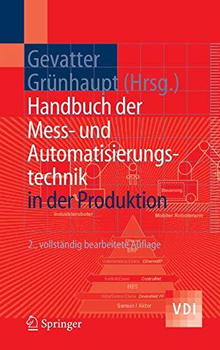 9783540212072: Handbuch der Mess- und Automatisierungstechnik in der Produktion (VDI-Buch) (German Edition)