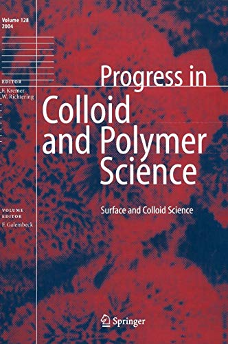 9783540212478: Surface and Colloid Science (Progress in Colloid and Polymer Science)