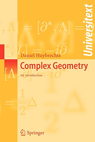 9783540212904: Complex Geometry: An Introduction