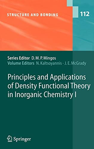 Principles And Applications Of Density Functional Theory: N. Kaltsoyannis ,