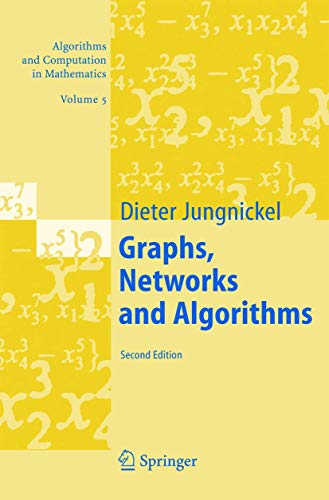 9783540219057: Graphs, Networks and Algorithms (Algorithms and Computation in Mathematics)