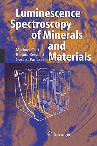 9783540219187: Modern Luminescence Spectroscopy of Minerals and Materials
