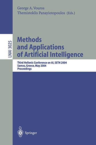 Methods And Applications Of Artificial Intelligence : Third Hellenic Conference on AI, SETN 2004, ...