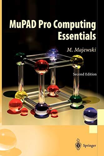 9783540219439: MuPAD Pro Computing Essentials