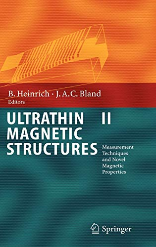 9783540219569: Ultrathin Magnetic Structures II: Measurement Techniques and Novel Magnetic Properties (Pt. 2)