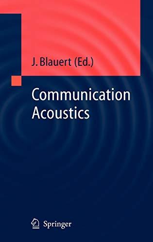 9783540221623: Communication Acoustics (Signals and Communication Technology)
