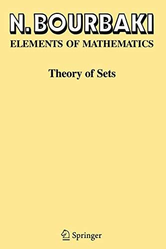 9783540225256: Theory of Sets (Ettore Majorana International Science)