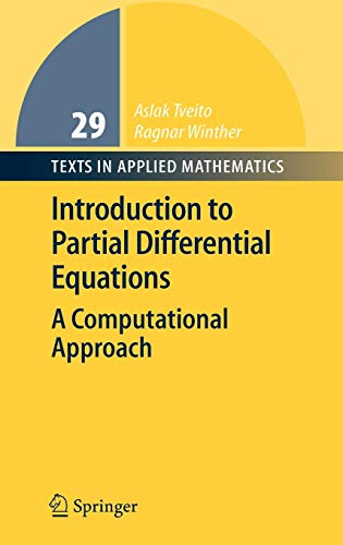 9783540225515: Introduction To Partial Differential Equations: A Computational Approach